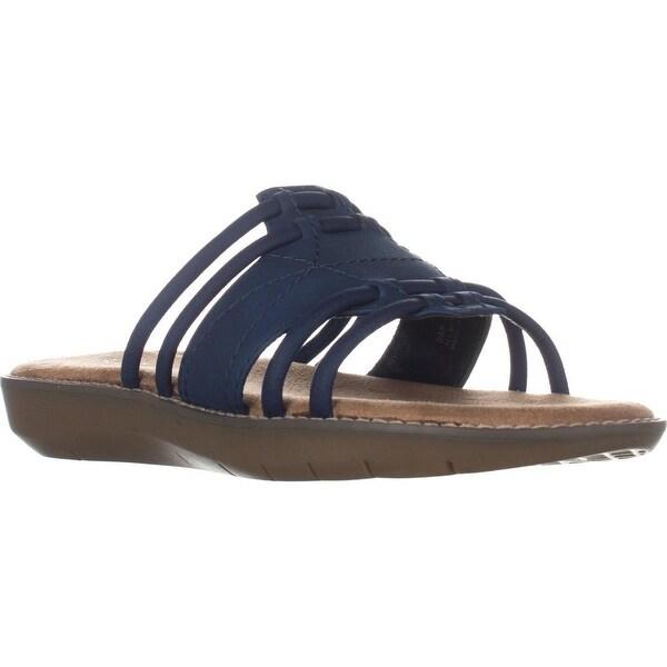 Aerosoles Super Cool Slide Sandals, Blue - 8 us