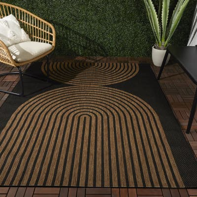 Niccolo Modern Patio Indoor/Outdoor Area Rug