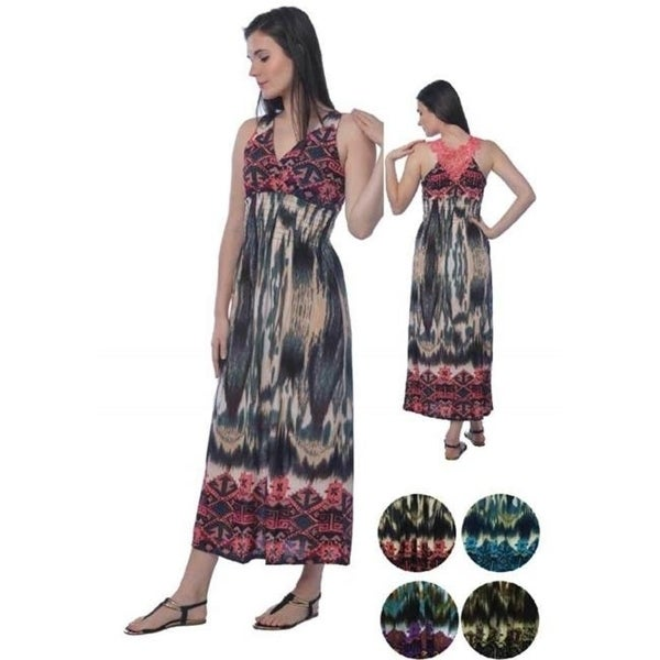 9ad467c32 Shop DDI 2280690 Women's Long Sundresses with Lace Back - Sizes M-XXL Case  of 96 - Free Shipping Today - Overstock - 27875185
