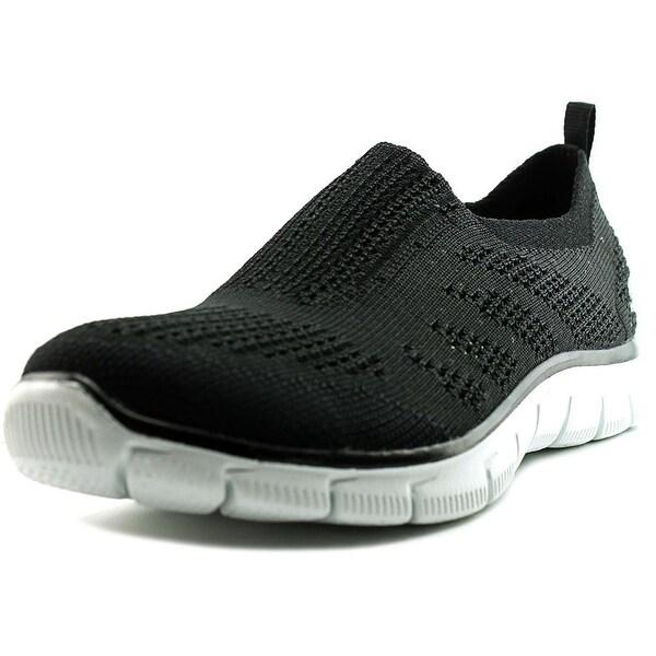 Skechers Empire-Inside Look Women Round Toe Canvas Black Walking Shoe