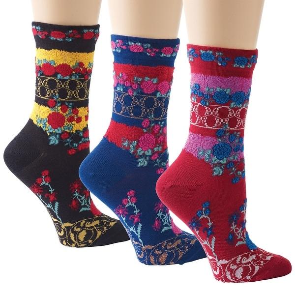 Women's Socks - Festive Medallions Shimmering Socks