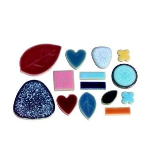 Bulk Assorted Shape Mosaic Tile, 0.625 - 1.5 in., Assorted