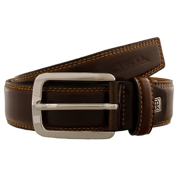 Renato Balestra DARIO Brown Leather Mens Belt - 40