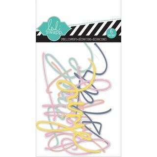 Heidi Swapp Acrylic Words 6/Pkg-Hello Today