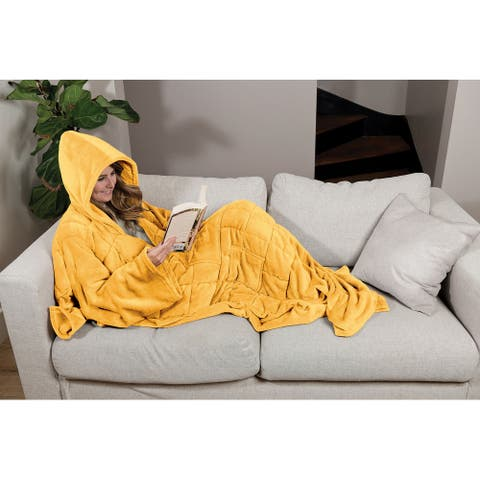 Wearable Weighted Snuggle Throw Blanket