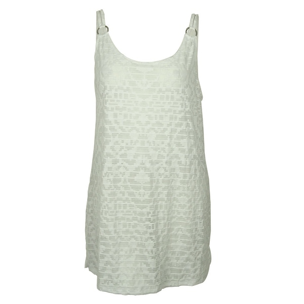 a0743c4ee0 Shop Dotti Women's Spaghetti Strap Dress Cover ups - White - S - Free  Shipping On Orders Over $45 - Overstock - 14812658