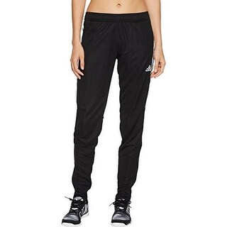 Adidas Womens Tiro17 Training Pant, Black/Silver
