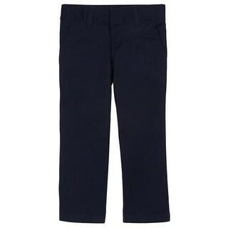 French Toast Girls 4-6X Stretch Twill Straight Leg Pant