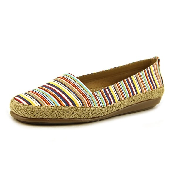 Aerosoles Solitaire Women Round Toe Canvas Multi Color Espadrille