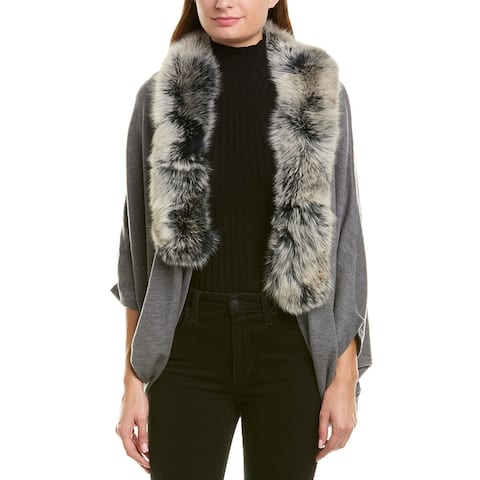 La Fiorentina Knit Wool Cocoon - Grey