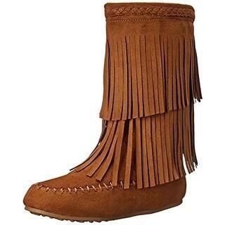 Rampage Girls britt Knee High Pull On Riding Boots - 11 m little kid