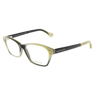 Balenciaga BA5020/V 064 Colorful Horn Brown Rectangular Opticals - 54-15-140