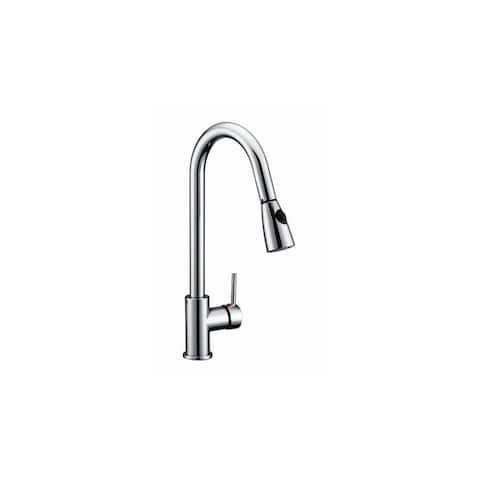 Design House 547869 Pull-Down Spray Gooseneck Kitchen Faucet