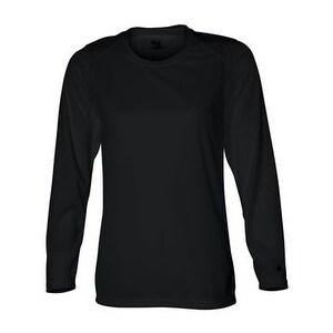 B-Core Women's Long Sleeve T-Shirt - Black - XL
