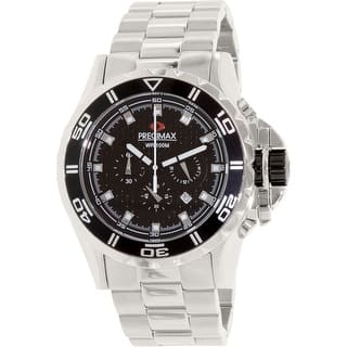 Precimax Men's Carbon Pro PX12201 Silver Stainless-Steel Quartz Dress Watch|https://ak1.ostkcdn.com/images/products/is/images/direct/55e7d440a714f077f4a25edcdaaf2211d20bc746/Precimax-Men%27s-Carbon-Pro-PX12201-Silver-Stainless-Steel-Quartz-Dress-Watch.jpg?impolicy=medium