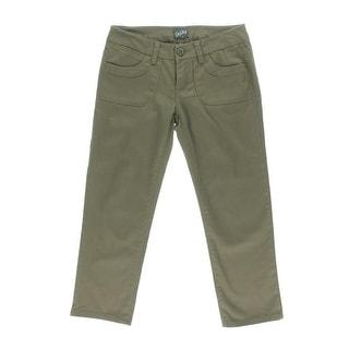 Be Bop Womens Juniors Capri Pants Twill Flat Front - 0