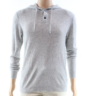 Polo Ralph Lauren NEW Gray Mens Size 2XL Hooded Cashmere Sweater v