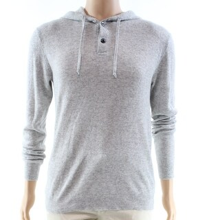 Polo Ralph Lauren NEW Gray Mens Size XL Hooded Cashmere Sweater