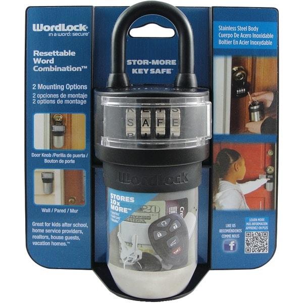Wordlock Ks-052-Bk Stor-More Key Safe