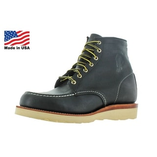 "Chippewa 6"" Mocc Toe Carpenter Work Boots Wide Width"
