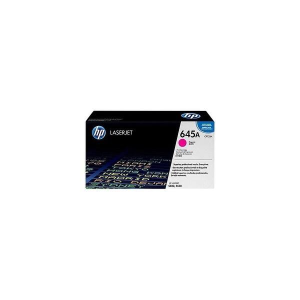 HP 645A Magenta LaserJet Toner Cartridge (C9733A)(Single Pack)