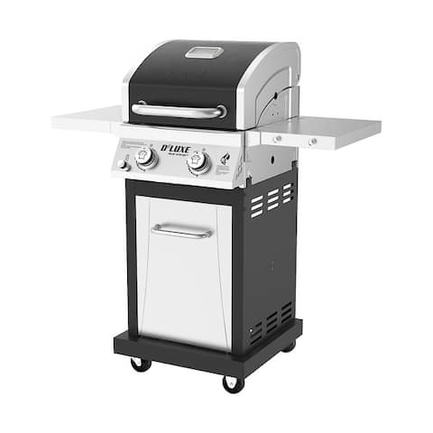 Nexgrill 2-Burner Gas, Black and Stainless Steel Propane-Grills_720-0864RA