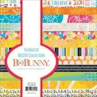 "Believe - Bobunny Paper Pad 6""X6"" 36/Pkg"