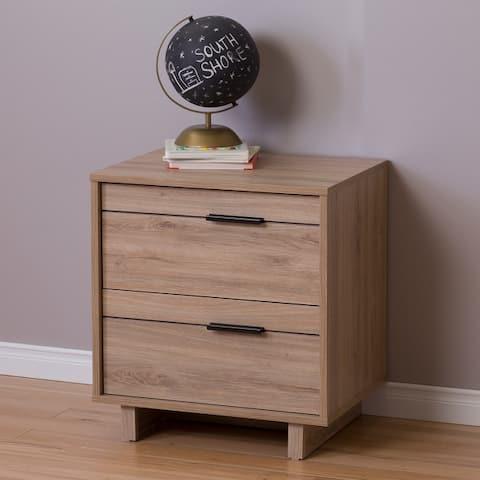 South Shore Fynn 2-drawer Nightstand
