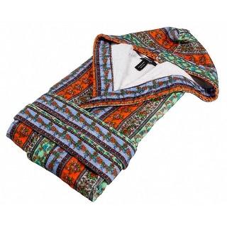 Versace VD A8572 002 Multicolor Hooded Sleeveles Bathrobe