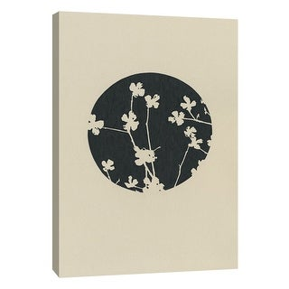 """PTM Images 9-105561  PTM Canvas Collection 10"""" x 8"""" - """"Contemporary Collage No.8"""" Giclee Flowers Art Print on Canvas"""
