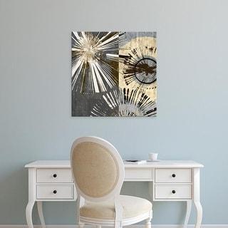 Easy Art Prints James Burghardt's 'Outburst Tiles I' Premium Canvas Art