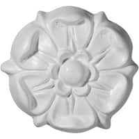 Ekena Millwork  3.75 In. OD Architectural Southampton Rosette