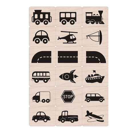 Ink 'n' Stamp Toy Vehicles - One Size