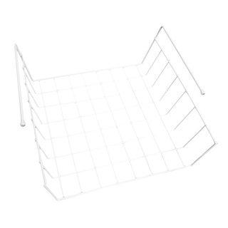 "Unisex-Adult Under Shelf Wrap Holder - Home Storage Organizer - 11.5"" Long X 12.75"" Deep X 4"" High"