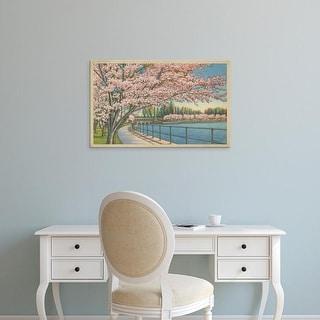 Easy Art Prints Unknown's 'Cherry Blossoms, Potomac Park' Premium Canvas Art