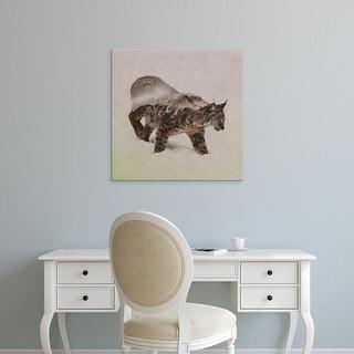 Easy Art Prints Andreas Lie's 'Lynx North' Premium Canvas Art
