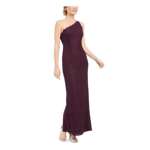 ADRIANNA PAPELL Purple Sleeveless Maxi Dress 12