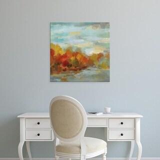 Easy Art Prints Silvia Vassileva's 'October Dreamscape' Premium Canvas Art
