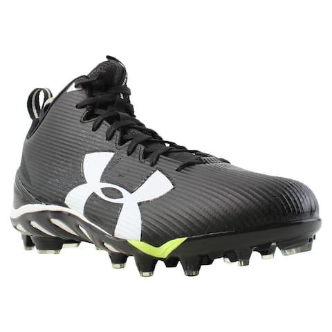 3e4fca1a00b Under Armour Mens Ua Spine Fierce Mc Black Soccer Cleats Size 11