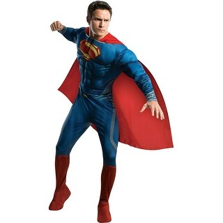 Rubie's Costume Man Of Steel Deluxe Adult Muscle Chest Superman, X-Large Costume