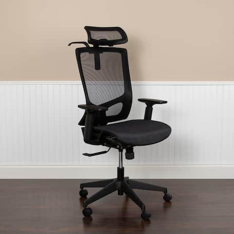 Ergonomic Mesh Office Chair with Synchro-tilt