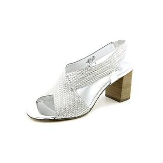 Circa Joan & David Kelli Open-Toe Synthetic Slingback Heel
