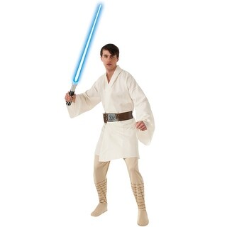 Rubies Star Wars Deluxe Luke Skywalker Adult Costume - Solid
