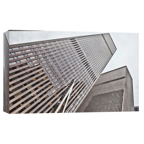 """PTM Images 9-103831 PTM Canvas Collection 8"""" x 10"""" - """"New York City Skyscrapers 2"""" Giclee New York Art Print on Canvas"""