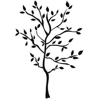 RoomMates RMK1317GM Tree Branches Peel & Stick Wall Decal, Black