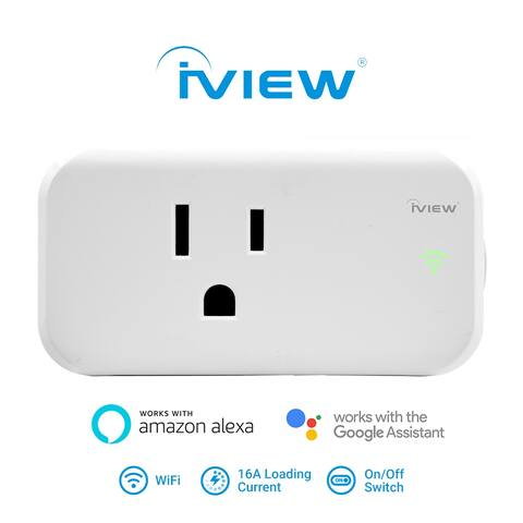 IVIEW ISC100 Smart WiFi Socket Plug