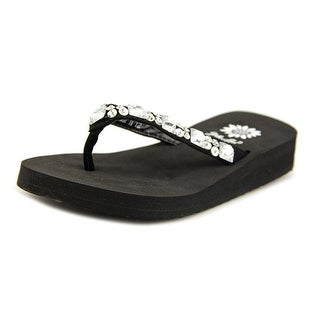 Yellow Box Sabbi II Open Toe Leather Flip Flop Sandal