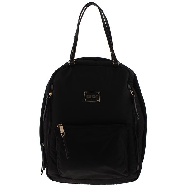 Kenneth Cole Reaction Womens Selita Backpack Contrast Trim Adjule
