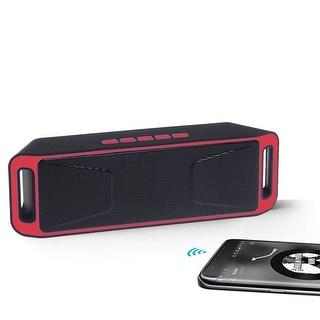 Indigi® Premium Splashproof Portable Wireless Bluetooth Rechareable Speaker (Great Gift)