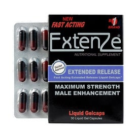 Extenze Male Sexual Enhancement and Penis Enlargement Supplements